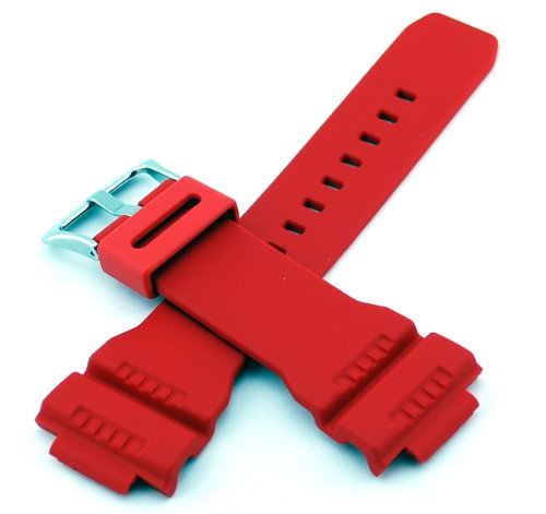 Casio #10332099 Genuine Factory Replacement Band G Shock Model: G7900A-4 (Red)