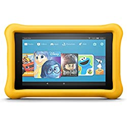 "All-New Fire 7 Kids Edition Tablet, 7"" Display, 16 GB, Yellow Kid-Proof Case"