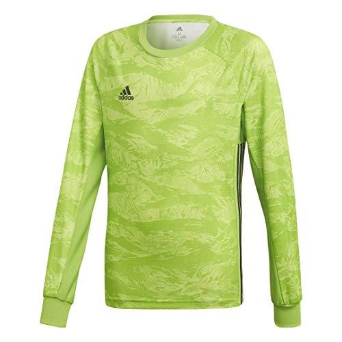 Adidas Goalkeeping Jersey - adidas adiPro 19 Goalkeeper Jersey- Boys Soccer L Semi Solar Green