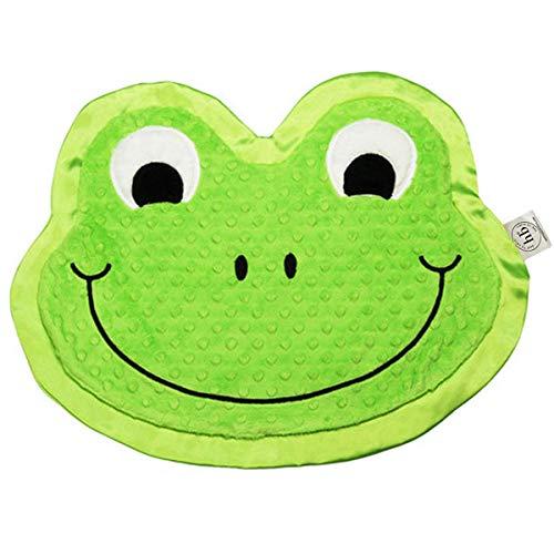 Happy Blankie Premium Heirloom Comfort Blanket for Kids ~ Stomp The Frog - Nursery Frog Happy