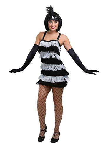 Fringe Style Flapper Dress Large (10-12) - Adult Laalaa Teletubbies Costumes