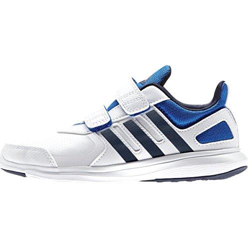adidas Hyperfast 2.0 CF K - Zapatillas para niño Blanco (Ftwbla / Maruni / Azul)