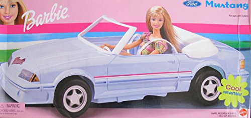(BARBIE Ford MUSTANG Cool CONVERTIBLE CAR Vehicle (2002))