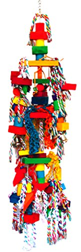 1326 HugeTriangle Tower Parrot Bird Cage Toys Cages Toy Chew Macaw Cockatoo Big by Bonka Bird Toys