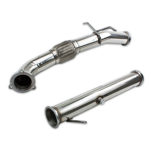 DNA Motoring DP-VOLVO-C30 Turbo Exhaust Downpipe Kit [For 06-13 Volvo C30 T5 2.5 P1]