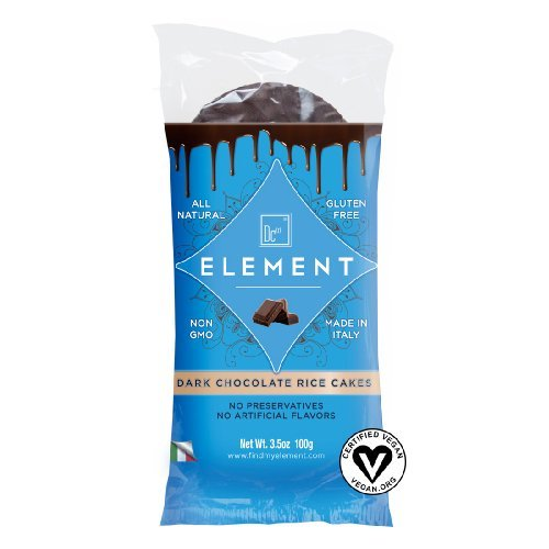 Element Snacks Rice Cake-Dark Choc 3.5 Oz