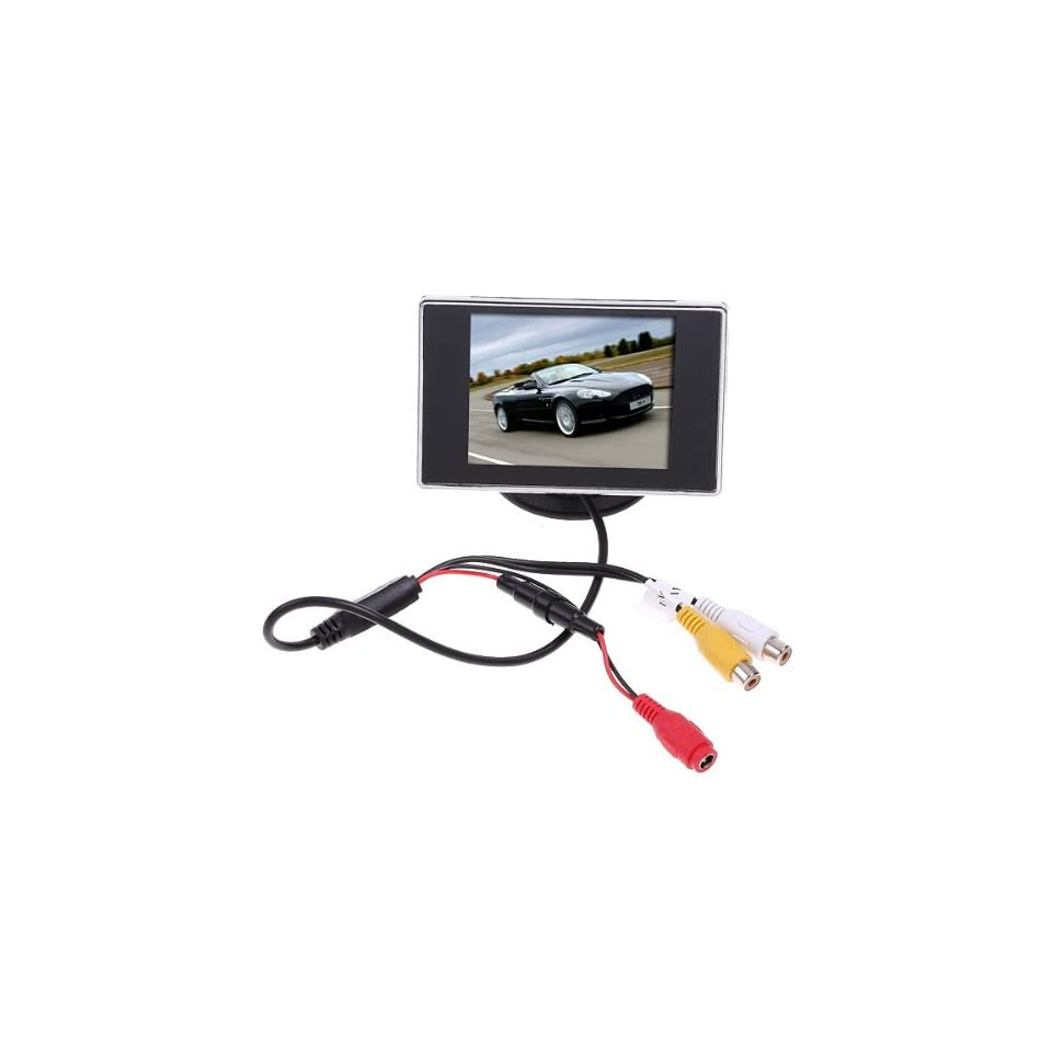 Oxford Street 3.5 Hign Definition Car Color TFT LCD Monitor Rearview DVD