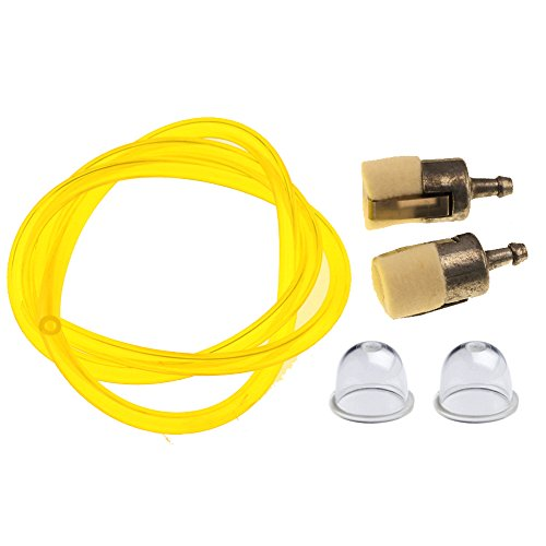 HIPA Primer Bulb + Fuel Filter + Fuel Line Hose Tube for HONDA GX22 GX25 GX31 GX35 Rototiller String Trimmer Brush Cutter
