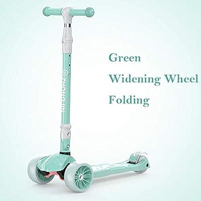 Cqing Scooter Infantil Brillante para Niños Equilibrio para Niños ...