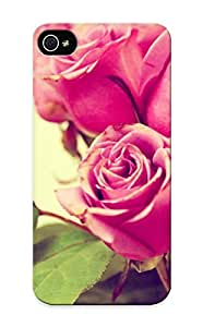 Special Exultantor Skin Case Cover For Iphone 5/5s, Popular Retro Roses Phone Case For New Year's Day's Gift