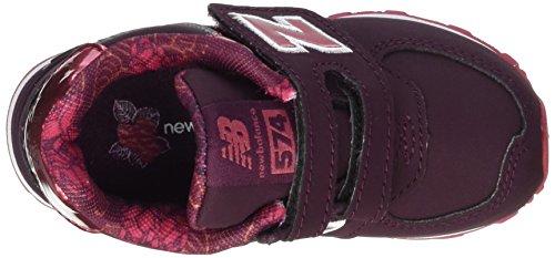 New Balance Unisex Baby 574v1 Sneaker Rot (Burgundy)