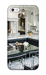 Hot Breakfast Nook In Traditional Kitchen With Tufted Banquette Seating First Grade Tpu Phone Case For Iphone 5/5s Case Cover