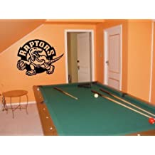 WALL STICKER MURAL VINYL NBA Toronto Raptors 001
