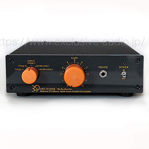 割引購入 限定アウトレットPRE-7610MK4 SATRI-IC-UL スタンダード 高精度プリアンプ   B07KWQLFF3, 赤平市 7013a673