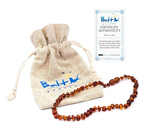 Top 10 Amber Teething Necklace for Baby Girls