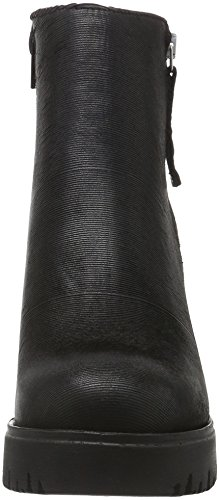 Noir à Bottines Froide 216004 Print Shoes Femme Black SHOOT Doublure Sh wSgxqIAxn8