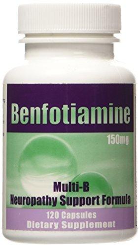 Benfotiamine Multi-B Formula 150 mg 120 Caps by Benfotiamine Inc