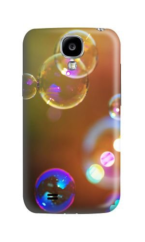 Phone Case Custom Samsung Galaxy S4 I9500 Phone Case Soap Bubbles Polycarbonate Hard Case for Samsung Galaxy S4 I9500 Case