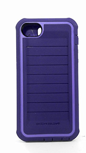 Body Glove Shocksuit Case for Iphone 5 - Retail Packaging (Purple)