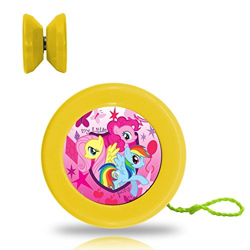 MY Little Pony Unicorn Professional Responsive Yoyo With Narrow C Bearing And Extra String Yellow (Mlp Halloween 2017)