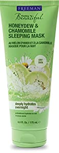 Freeman Feeling Beautiful Honeydew and Chamomile Sleeping Mask, Dry Skin, 6 oz.