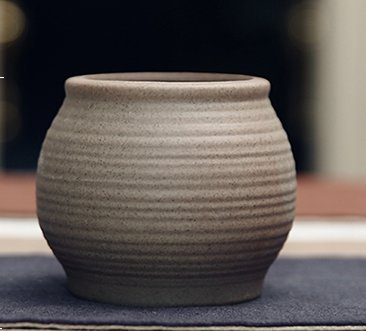 Handmade Ceramic Bisque Home/ Garden Antique Chinese Gray - Ceramic Planter Chinese