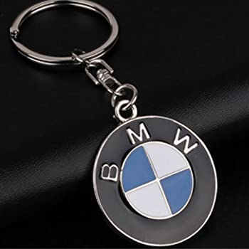 Amazon.com: BMW Key Chain Both Side BMW Brand Logo Special ...