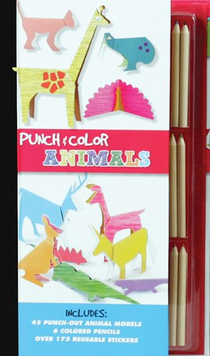 Punch and Color: Animals PDF