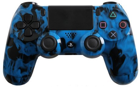 Photo - Evil Controllers 4iBFC Blue Fire Custom PlayStation 4 Controller