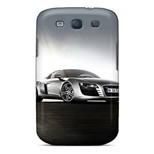 Best Cell-phone Hard Covers For Galaxy S3 With Customized Beautiful Audi R8 Pattern Cases-best-covers