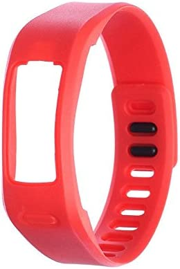 Purple No Tracker Linkshare Colorful Fitness Replacement Bands for Garmin Vivofit NOT for Garmin Vivofit 2//3//JR//HR