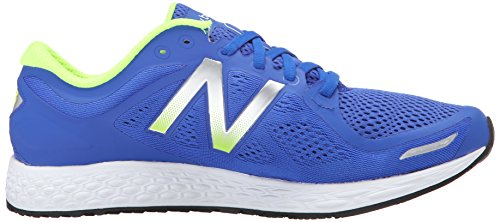 New Balance Mens Fresh Foam Zantev2 Running Shoe Blue / Green