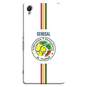ColorKing Sony Xperia Z5 Premium Football White Case shell cover - Fifa Senegal 02