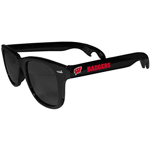- NCAA Wisconsin Badgers Beachfarer Bottle Opener Sunglasses