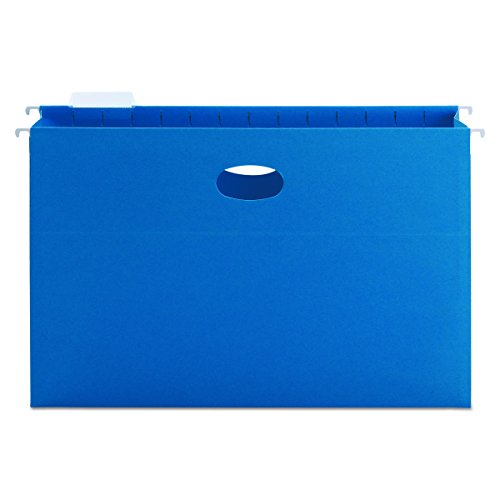 (Smead Hanging File Pocket with Tab, 3