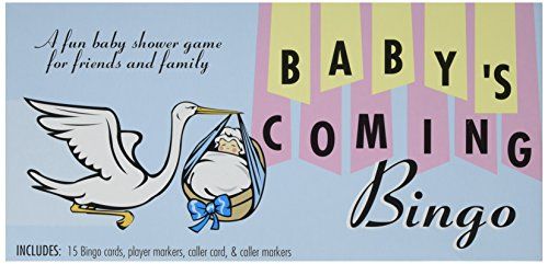 Baby's Coming Bingo Baby Shower Game Gift Boy - Nv Forum