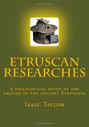 Read Online Etruscan Researches pdf epub