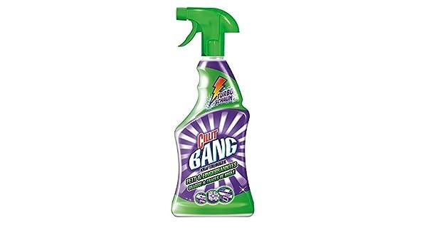 Cillit Bang Fuerza limpiador grasa y decodificadores ebranntes limpiador Turbo Espuma 750 ml: Amazon.es: Salud y cuidado personal