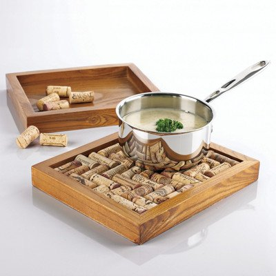 Wine Cork Trivet Kit [Set of 2] ()