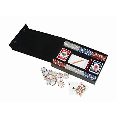 Leather Professional Poker Set (8 Professional Poker Set)