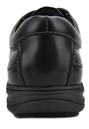 Restaurant DREAM Slip Resistant PAIRS 01 Shoes Work Men's black IgqSg