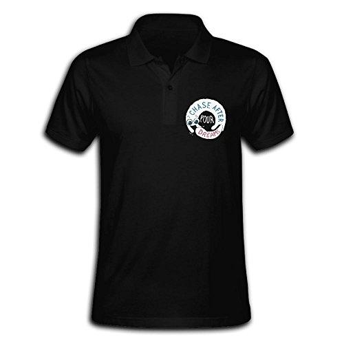 Male's Polo Shirt Short Sleeve With Classic Printing Large ZHONGJIAN