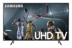 See all your favorite entertainment as it was meant to be seen with the Samsung UN58RU7100FXZA Flat 58-Inch 4K UHD 7 Series Ultra HD Smart TV. Featuring a powerful 4K UHD processor, this UHD Smart TV offers 4x the resolution (3, 840 x 2, 160)...