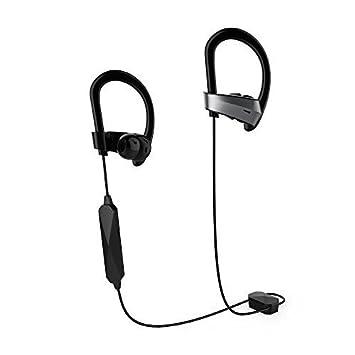 Auriculares Bluetooth con Cancelación de Ruido Activa, Auriculares Inalámbricos Meidong HE8K en Los Oídos Deportivos con 12 Horas de Batería Apt-X Sonido ...