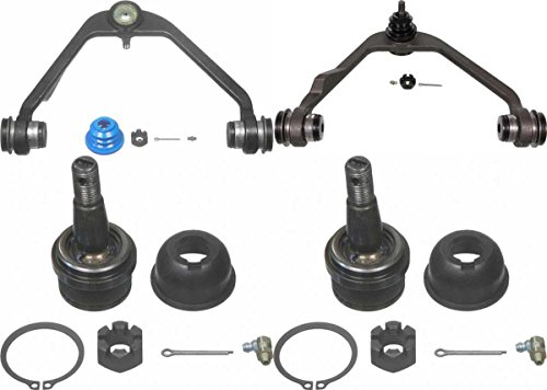 Prime Choice Auto Parts CAK482555K Set of Upper Control Arms and 2 Lower Ball Joints (Auto Parts Ball Joints)