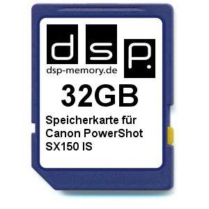 DSP Memory Z di 4051557365025 32 GB scheda di memoria per Canon PowerShot SX150 IS Z-4051557365025