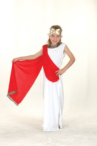 Small Girls Goddess Costume (Aphrodite Costume Child)