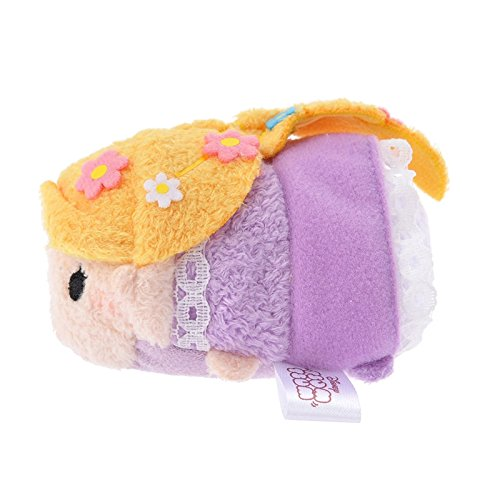 Amazon.com: Disney Store stuffed Rapunzel mini (S) TSUM TSUM plush Japan Import: Toys & Games