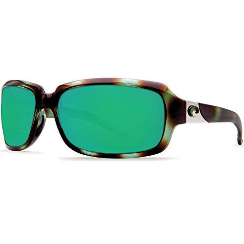 - Costa Del Mar Isabela 580P Isabela, Shiny Seagrass Green Mirror, Green Mirror