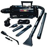 MetroVac Data Vac Pro MDV-2BA Portable Vacuum Clearner - 780 W Motor - 6.50 A - Bagged - Black - MDV-2BA